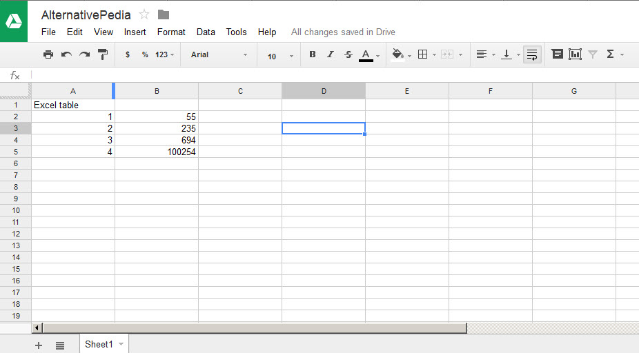 how to create different headers in google docs