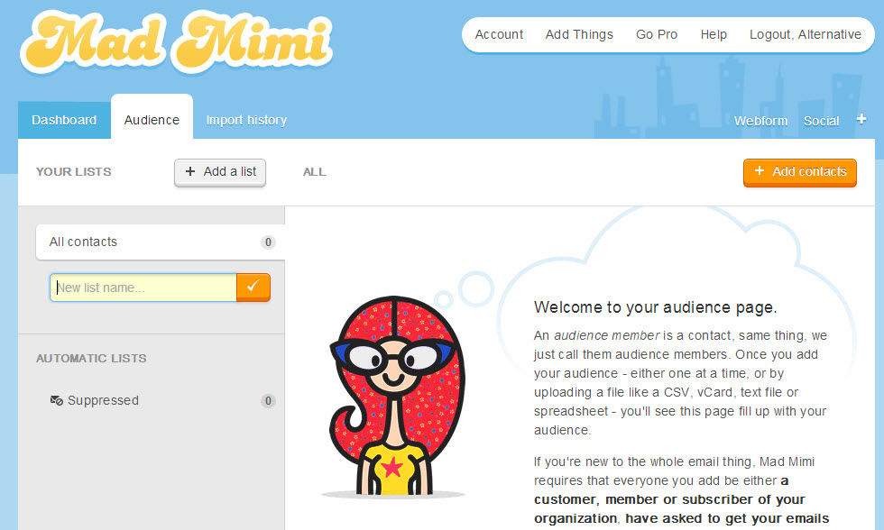 9 mad mimi alternatives and competitors for Mad mimi templates
