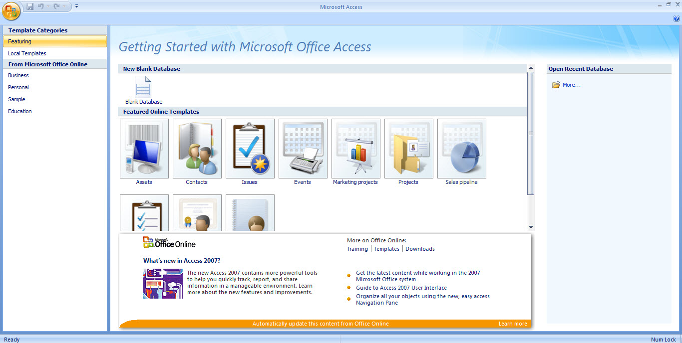 ms access html template - 5 microsoft access alternatives and competitors